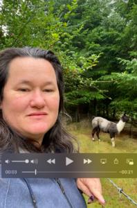 Video thanking employee nina